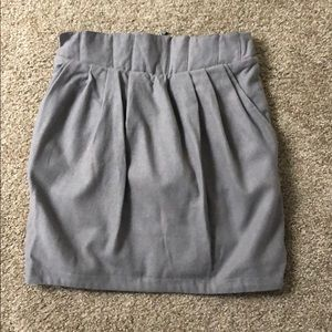 Dresses & Skirts - Business skirt Grey size M